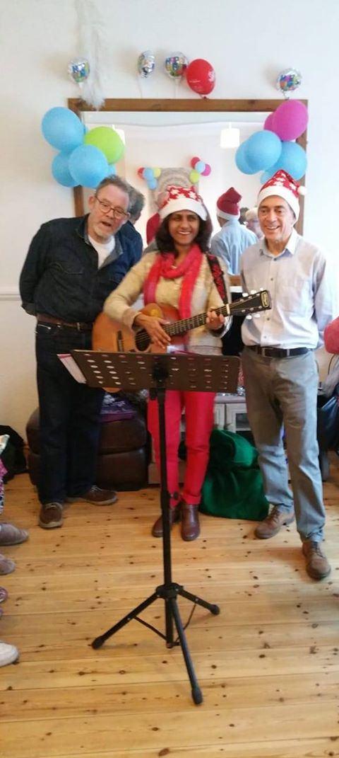 Carol Singing for 'Rosebery Prospects' group members