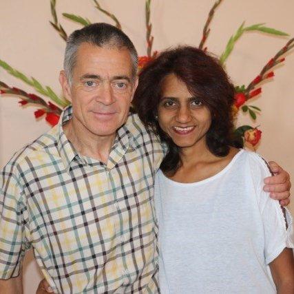 colour photo of Simon & Priscilla Bartlett