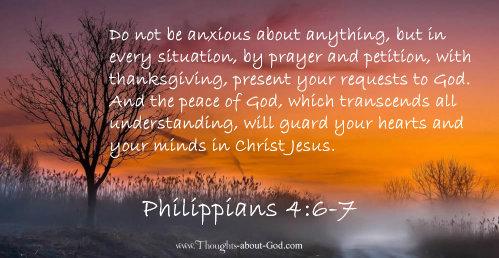 Philippians 4 v 6
