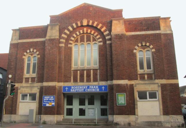 church building Sept 2020