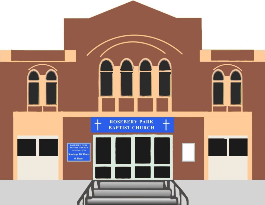 clipart version of church building