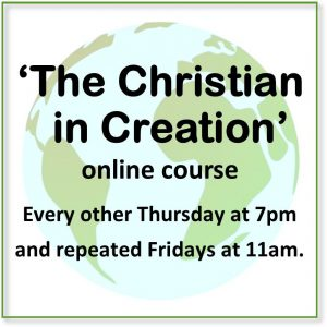 link to The Christian in Creation course page
