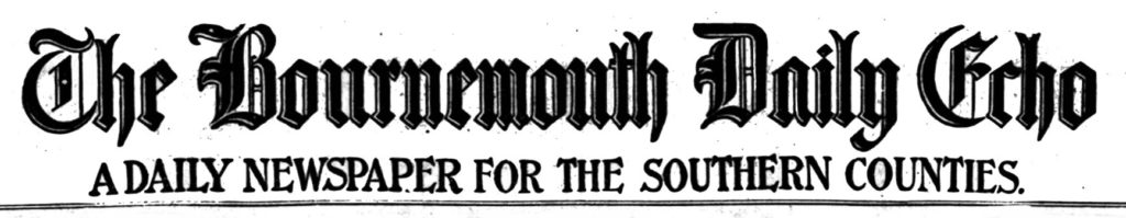 bournemouth daily echo newspaper title piece masthead