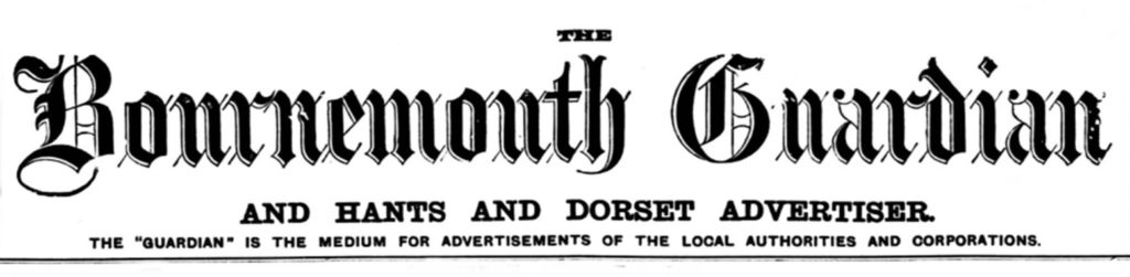 bournemouth guardian newspaper title piece masthead