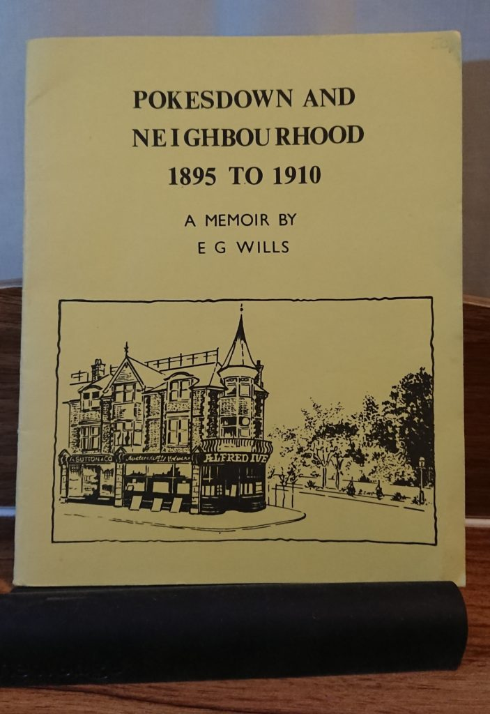 front cover of Pokesdown and Neighbourhood booklet by E.G. Wills